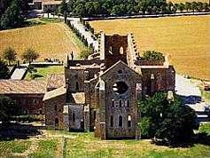 Siena's San Galgano Abbey