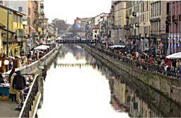 Navigli canal - Milan
