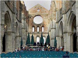 San Galgano Abbey - courtesy of festivalopera.it