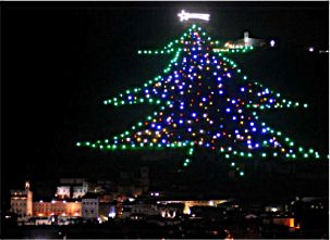 Gubbio's Christmas Tree